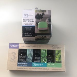Accessories - Brand New Essential Oil & Diffuser